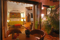 gay holiday rentals in mexico - master bedroom and balcony