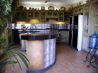 modern kitchen and facilities