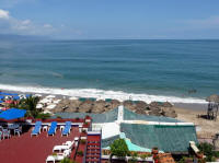 gay vacation rentals in puerto vallarta mexico view Banderas Bay