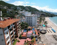 gay travel and winter hot spots in Mexico along Los Muertos beach
