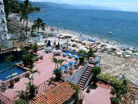 el dorado dipping pool sundeck terrace and los muertos beach puerto vallarta
