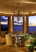 puerto vallarta villas for rent - estrella mar dining and ocean view