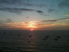 more lovely sunsets along los muertos beach in Puerto Vallarta