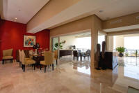 molino de agua condo rental dining, living and balcony areas