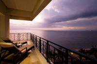 beachfront rental condominium puerto vallarta balcony views north