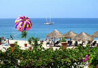 puerto vallarta parasailing from beachfront condos