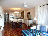 puerto vallarta beachfront condos - living and dining areas