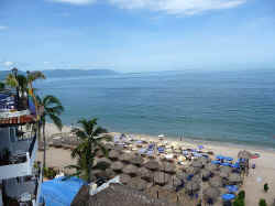 PB-73  three bedroom condo view gay beach on playa de los muertos and South