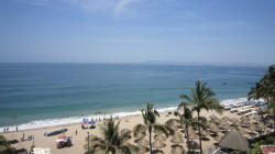 winter destinations in gay friendly puerto vallarta, mexico on Los Muertos beach