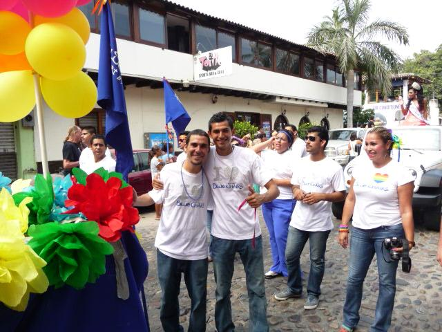 gay pride parade in Mexico in vallarta #1 beach town resort