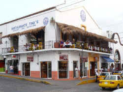 Tino's restaurants in downtown puerto vallarta