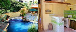 pool from Upper casita, with kitchenette