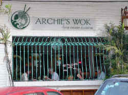 archie's wok fine asian food