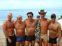puerto vallarta and the chicago guys at the gay beach