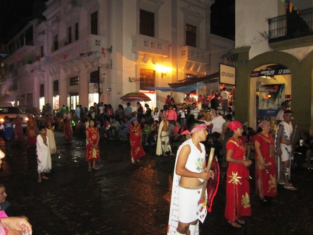popular events in Vallarta - dancers during the feast of Guadalupe