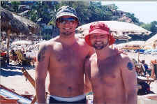 tim and glenn on holiday in vallarta - picture thanks to nuno