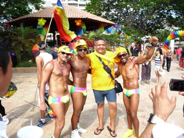 first yearly gay pride in puerto vallarta mexico