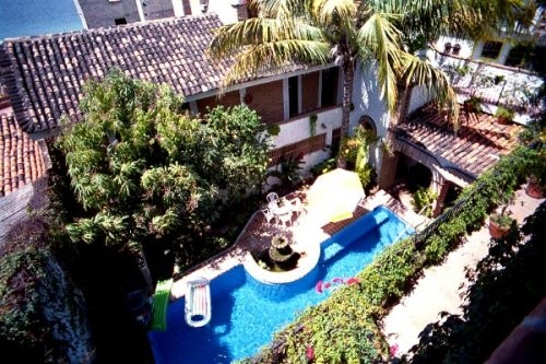 Villa David gay b&b heated swimming pool in puerto vallarta