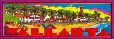 gay puerto vallarta travel guide - logo artwork by lorenzo menne