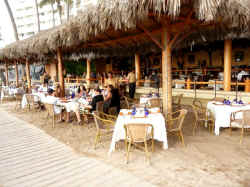 la palapa restaurant bar one of Vallarta's most famous and popular