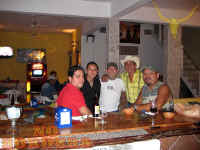 gay bar No Borders cantina with julio, jorge and friends - pic by No Borders