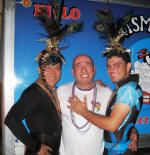 denis and friends at the puerto vallarta carnival february 2010