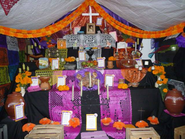 puerto vallarta attractions day of the dead altar