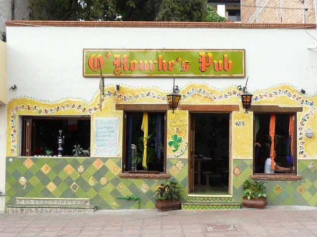 O'Rourke's pub bar restaurant in puerto vallarta mexico