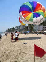 puerto vallarta parasailing - picture by michael bottrill
