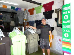 gay-owned Puerto Vallarta stores with Martin at Rainbow T-Shirts