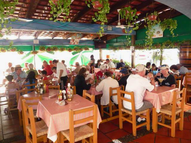 one of the most popular puerto vallarta marina restaurants mariscos el coleguita