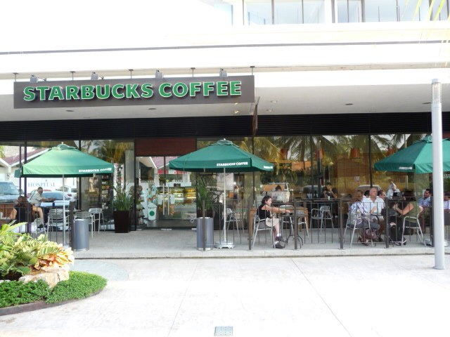 starbucks coffee shop in the marina puerto vallarta