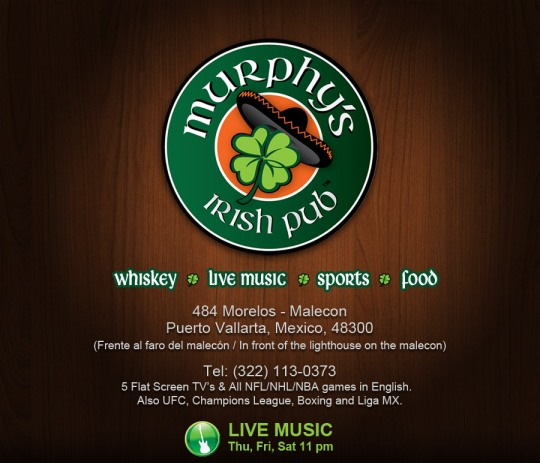 irish pub with music, since 2011