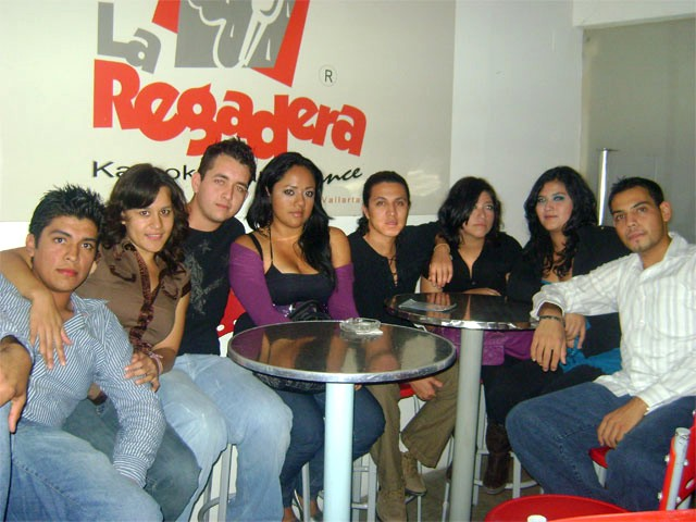 PV karaoke bar club - photo thanks to la Regadera