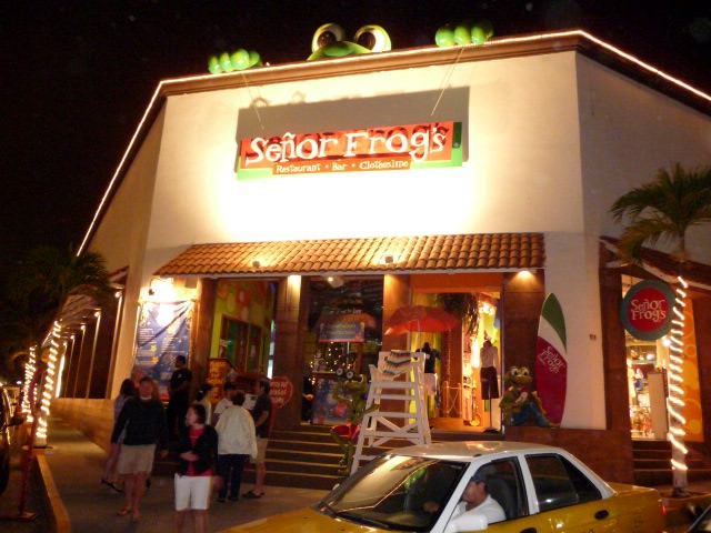 senor frogs one of the puerto vallarta best restaurant night clubs