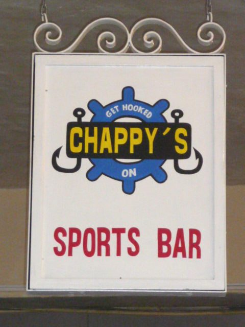 chappy sports bar in the puerto vallarta marina