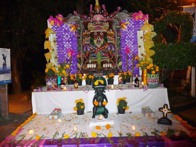 things to do in puerto vallarta mexico day of dead altar