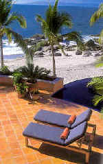 puerto vallarta beachfront villa rentals the Marea Baja