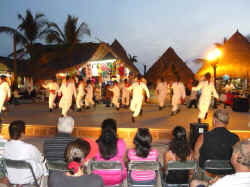 xiutla folkloric dance at Lazaro Cadenas park in Vallarta